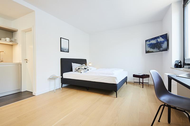 ipartment z rich m ller design. Black Bedroom Furniture Sets. Home Design Ideas