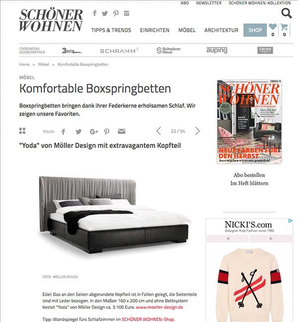 Schoener Wohnen Abo schoener wohnen de germany oktober 21 2017 möller design